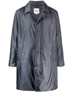 Однобортное пальто миди Aspesi