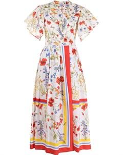 Платье макси Fiore с цветочным принтом Sara roka
