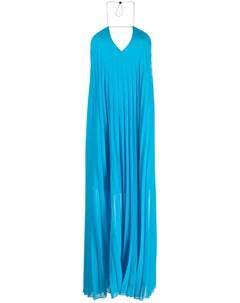 Плиссированное платье на бретелях Patrizia pepe