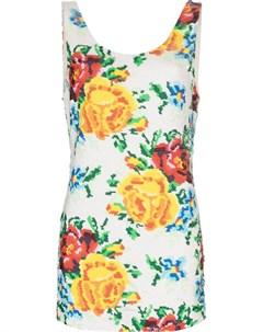 Платье мини с пайетками Ashish