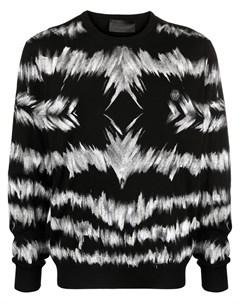 Пуловер с принтом тай дай Philipp plein