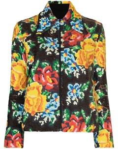 Куртка на молнии с пайетками Ashish