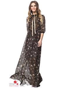 Платье цвет коричневый Kiara