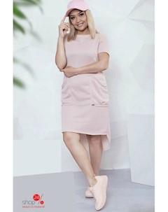 Платье цвет светло розовый Felix