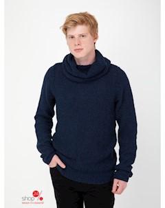 Пуловер цвет синий Red soul