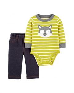 Комплект для мальчика полукомбинезон брюки 1J953310 Carter`s