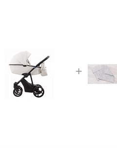 Коляска Belino Prima 2 в 1 с комплектом AmaroBaby Mommy Star Радуга Aroteam
