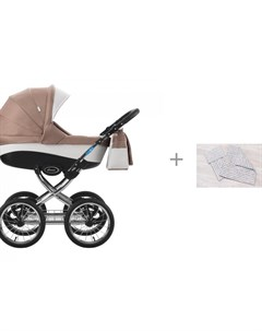Коляска Veronimo 18 2 в 1 с комплектом AmaroBaby Mommy Star Радуга Aroteam