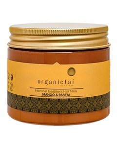 Маска для волос Манго и папайя 150 мл Organic tai