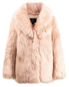 Шуба Premium Rose из искусственного меха Unreal fur