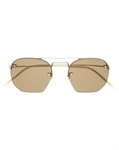 Солнцезащитные очки авиаторы Saint laurent