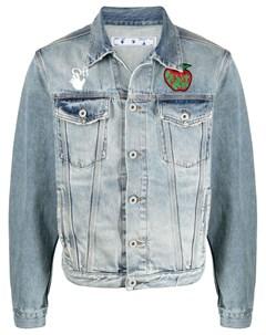 Джинсовая куртка Apple Off-white