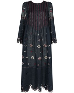 Платье миди Jacqueline с вышивкой Vita kin