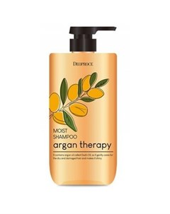 Шампунь для волос с аргановым маслом argan therapy moist shampoo Deoproce