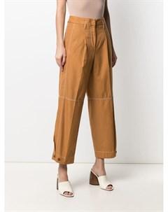Укороченные брюки с завышенной талией Brag-wette