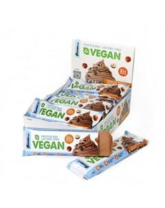 Батончик протеиновый Vegan Шоколадный маффин с фундуком 12х60 г Bombbar