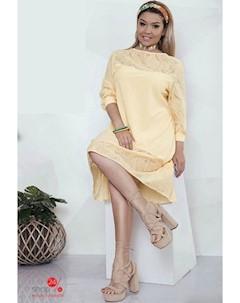 Платье цвет желтый Felix