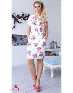 Платье цвет белый Lilova