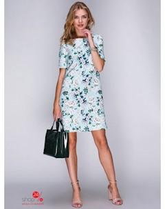 Платье цвет ментоловый Mariem