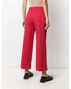 Расклешенные брюки с завышенной талией Brag-wette
