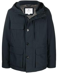 Куртка с капюшоном и карманами Woolrich