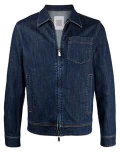 Джинсовая куртка узкого кроя Eleventy
