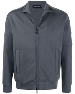 Куртка с вышитым логотипом Emporio armani