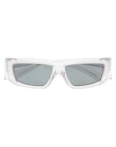 Солнцезащитные очки в прямоугольной оправе Rick owens