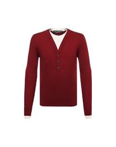 Пуловер из шелка и хлопка Dolce&gabbana
