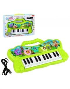 Музыкальный инструмент Детский синтезатор JB201727 Джамбо