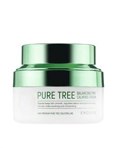 Крем для лица Pure Tree Balancing Pro Calming Cream Enough