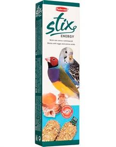 Stix Energy Cocorite палочки лакомство для волнистых попугаев и экзотических птиц с яйцом и ракушечн Padovan