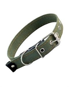 Ошейник брезентовый для собак одинарный 2 5 см х 53 см Гамма 1 шт Gamma