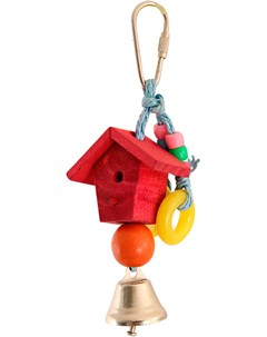 Игрушка для птиц Скворечник 17 5 х 5 см 1 шт Триол