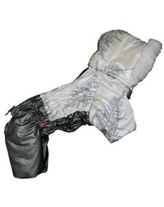 Комбинезон для собак белый металлик для девочек Fw848 2020 F 12 For my dogs