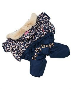 Комбинезон для собак Лео синий для мальчиков Fw859 2020 M 14 For my dogs