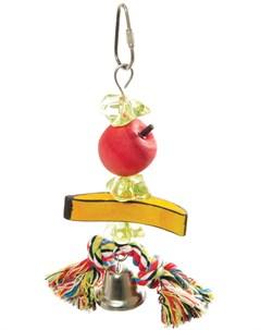Игрушка для птиц Ветка с фруктами 1 шт Триол