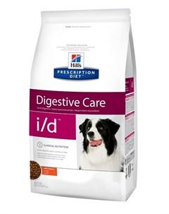 Hill s Prescription Diet I d для взрослых собак при заболеваниях желудочно кишечного тракта 12 12 кг Hill`s
