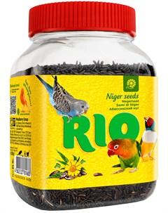 Лакомство для всех видов птиц абиссинский нуг 250 гр Rio