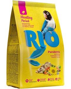 Parakeets корм для средних попугаев в период линьки 1 кг Rio
