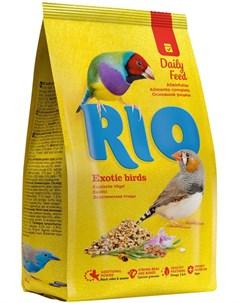 Exotic Birds корм для экзотических птиц 1 кг Rio