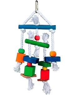Игрушка для птиц дерево верёвка 24 см 1 шт Trixie