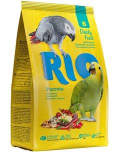 Parrots Рио корм для крупных попугаев 500 гр Rio