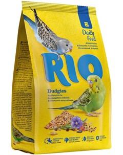 Budgies корм для волнистых попугаев 1 кг Rio