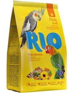 Parakeets Рио корм для средних попугаев 1 кг Rio
