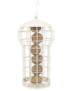 Кормушка уличная для птиц кремовая 17 х 30 см 1 шт Trixie