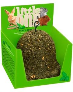 Колокольчик лакомство игрушка для всех видов грызунов 150 гр 1 шт Little one