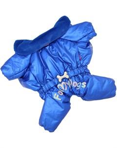 Комбинезон для собак синий для мальчиков Fw718 2019 M 20 For my dogs