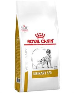Urinary S o Lp18 для взрослых собак при мочекаменной болезни струвиты оксалаты 2 кг Royal canin