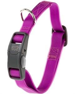 Ошейник с магнитным замком для собак Evolution C16 44 фиолетовый 1 шт Ferplast